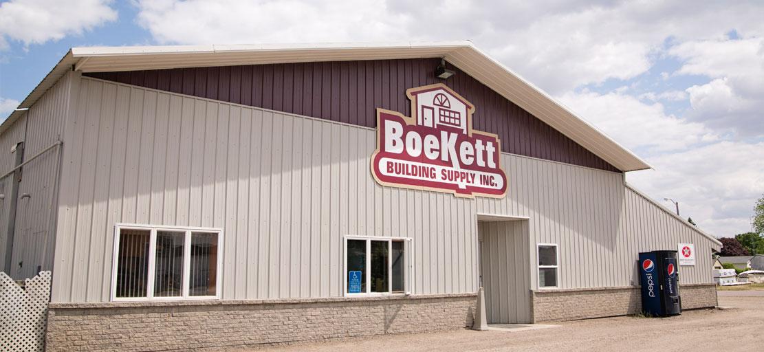 Contact Boekett Building Supply